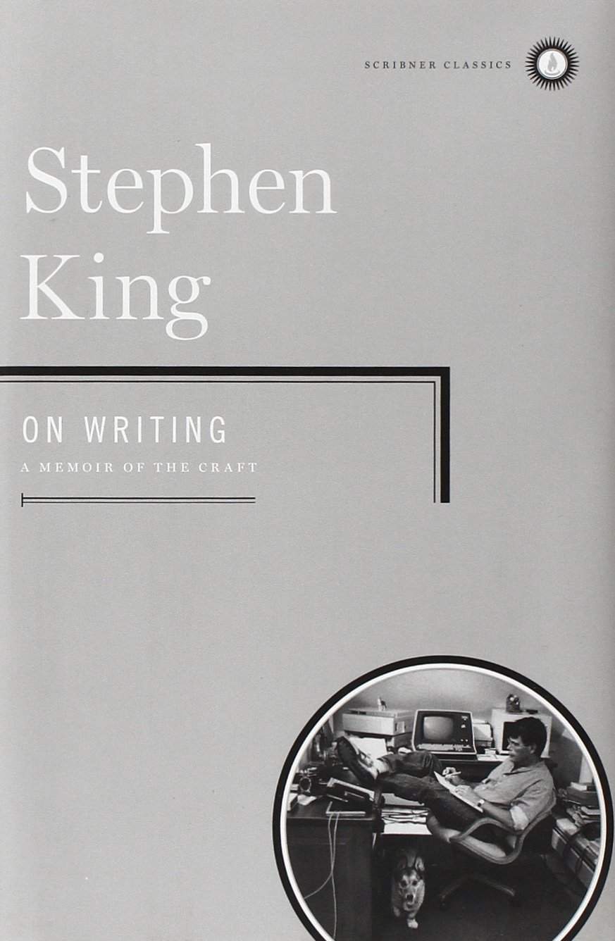 book review stephen king s on writing jaclyn l paul book cover on writing