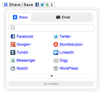 Share Buttons via AddToAny screenshot