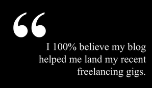 freelance writing from blog pull quote
